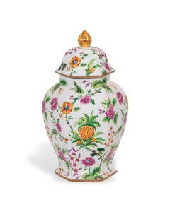 Williamsburg Collection Medium Pineapple Ginger Jar