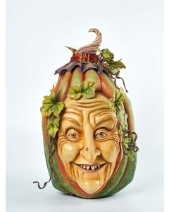 Willowmena Wanderweed Pumpkin Face Decoration
