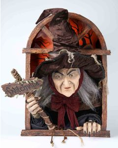 Witchville Witch Wall Decoration