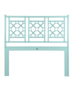 David Francis Wood Frame Headboard with Lattice Back - Variety of Finishes Available