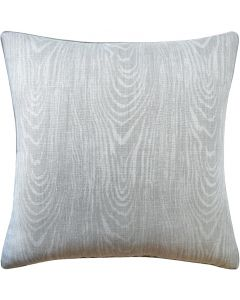 Wood Grain Pattern Linen Throw Pillow in Slate – Available in Different Sizes