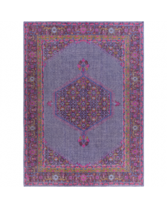 Zahra Rug in Purple, Fuchsia, Red and Mustard - Available in a Variety of Sizes